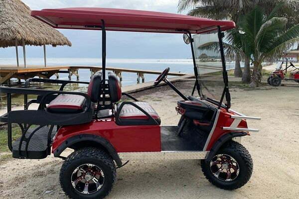 San Pedro Ambergris Caye Belize Golf Cart Rentals