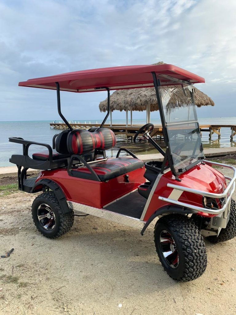 club car best golf carts for the beach ambergris caye